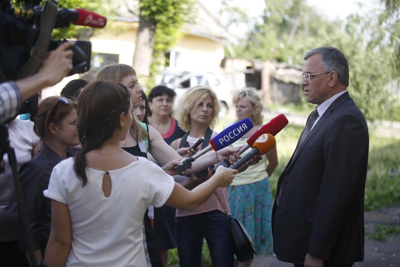 Злобин ушел вотставку споста главы города Ливен